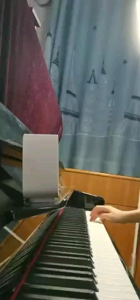 每天练琴。演奏视频