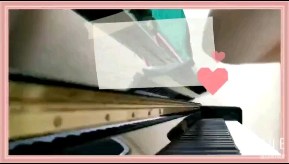 【钢琴】《慢慢喜欢你》莫文蔚