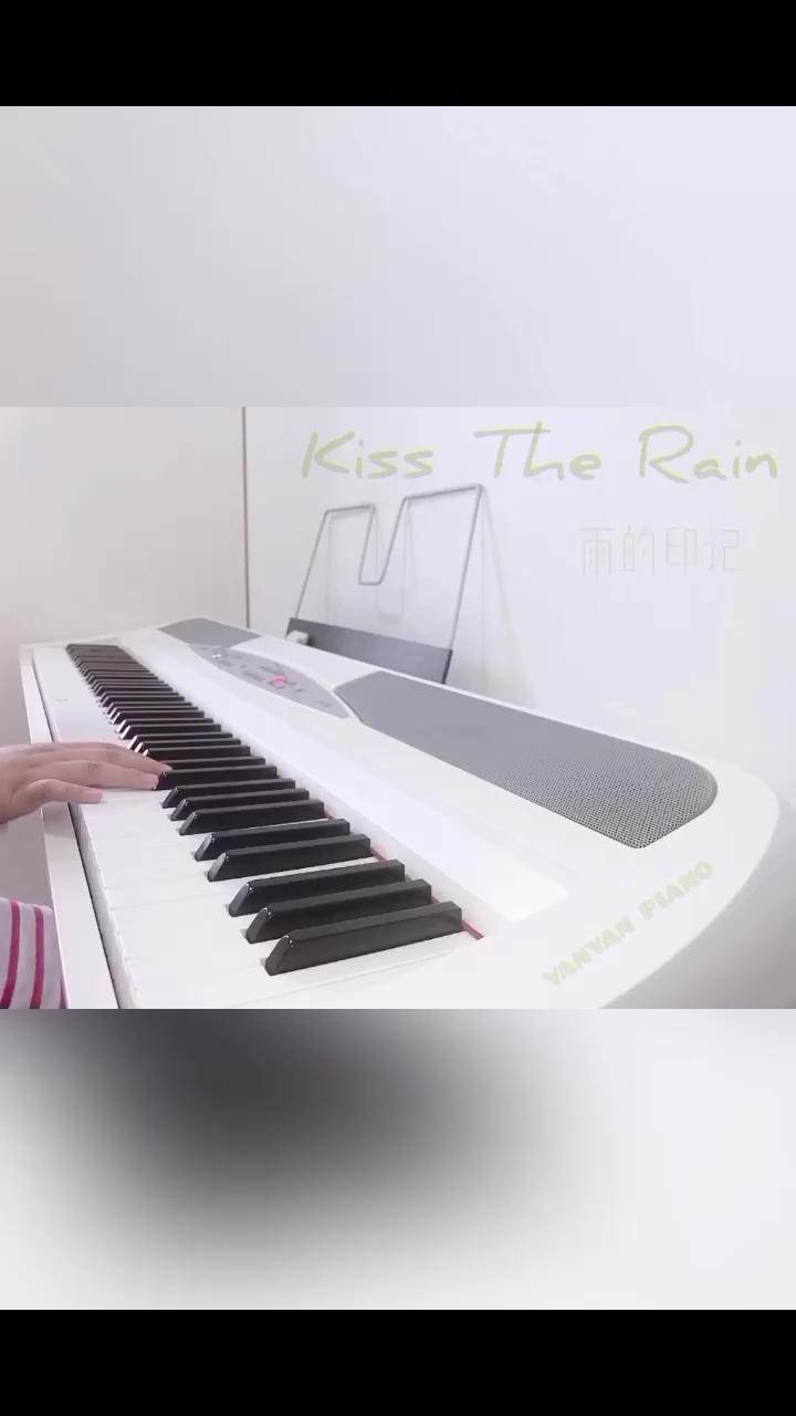 【Kiss The Rain】简版C调演奏视频