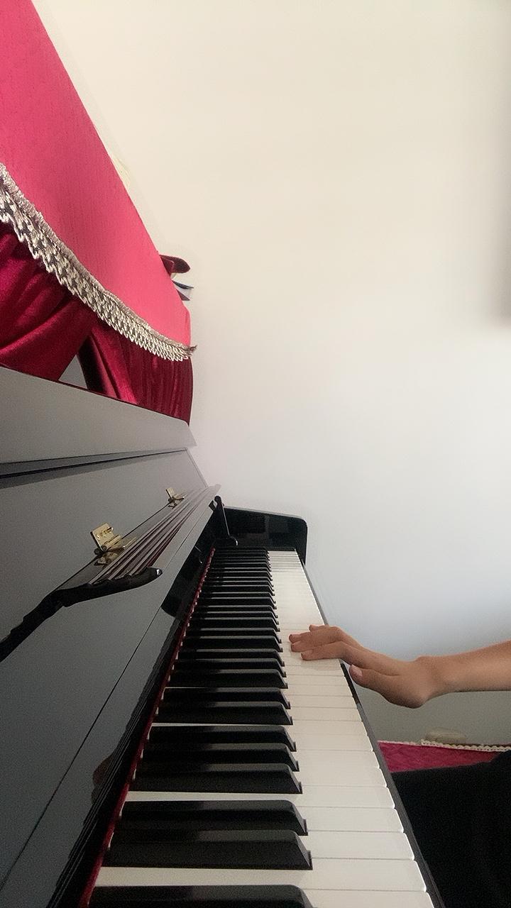 【四级】C-3 俄罗斯波尔卡 [带指法](2019新版钢琴考级)演奏视频