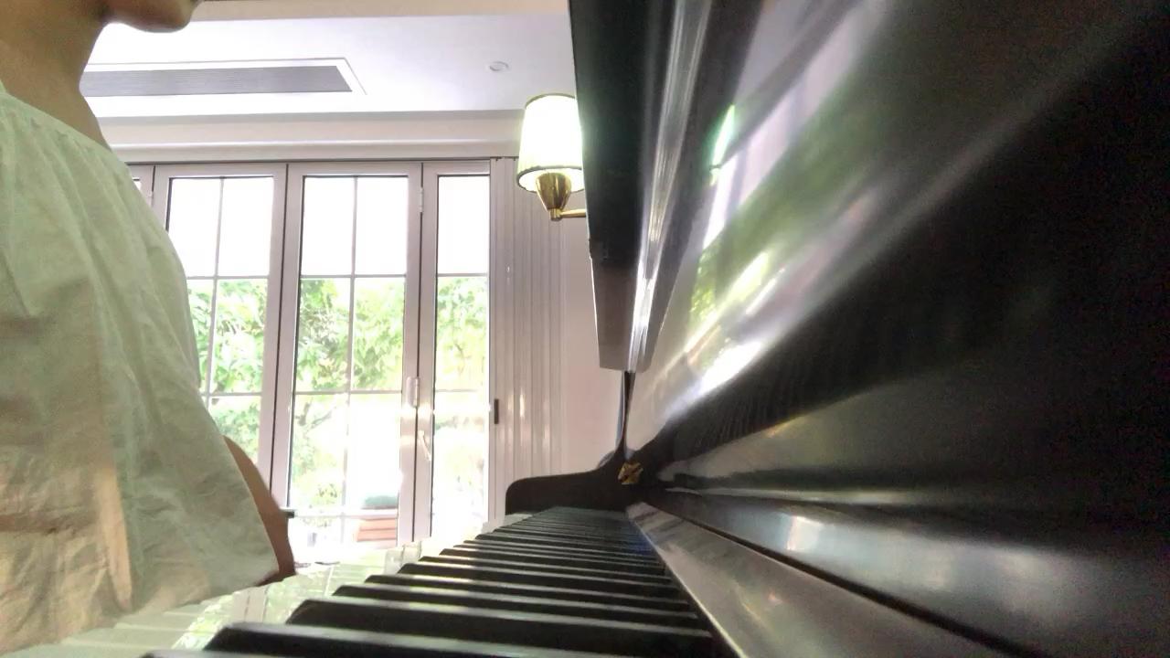 《滴答》侃侃 正版 钢琴谱演奏视频