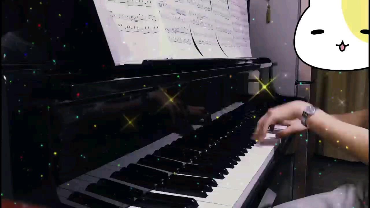 """从手机里扒出一个一年前的老库存,那时钢琴也没调音。三拍子""""嘭嚓嚓""""真上头演奏视频"""