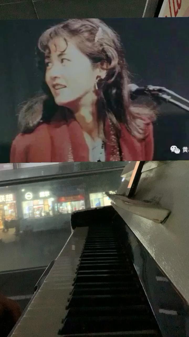 街头钢琴随手弹中岛美雪《明明是春天/春なのに》,偶然听到的一首日语老歌,旋律很熟悉…演奏视频