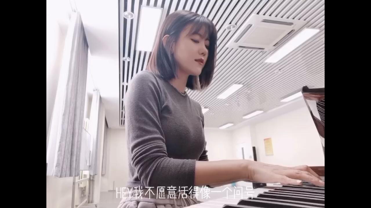 我的舞台【完美伴奏附词】演奏视频