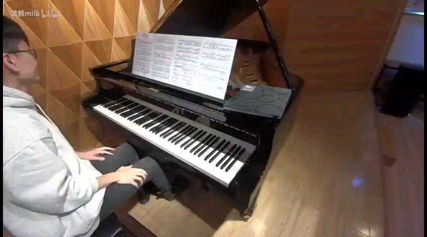 Legends Never Die钢琴谱【milk】演奏视频