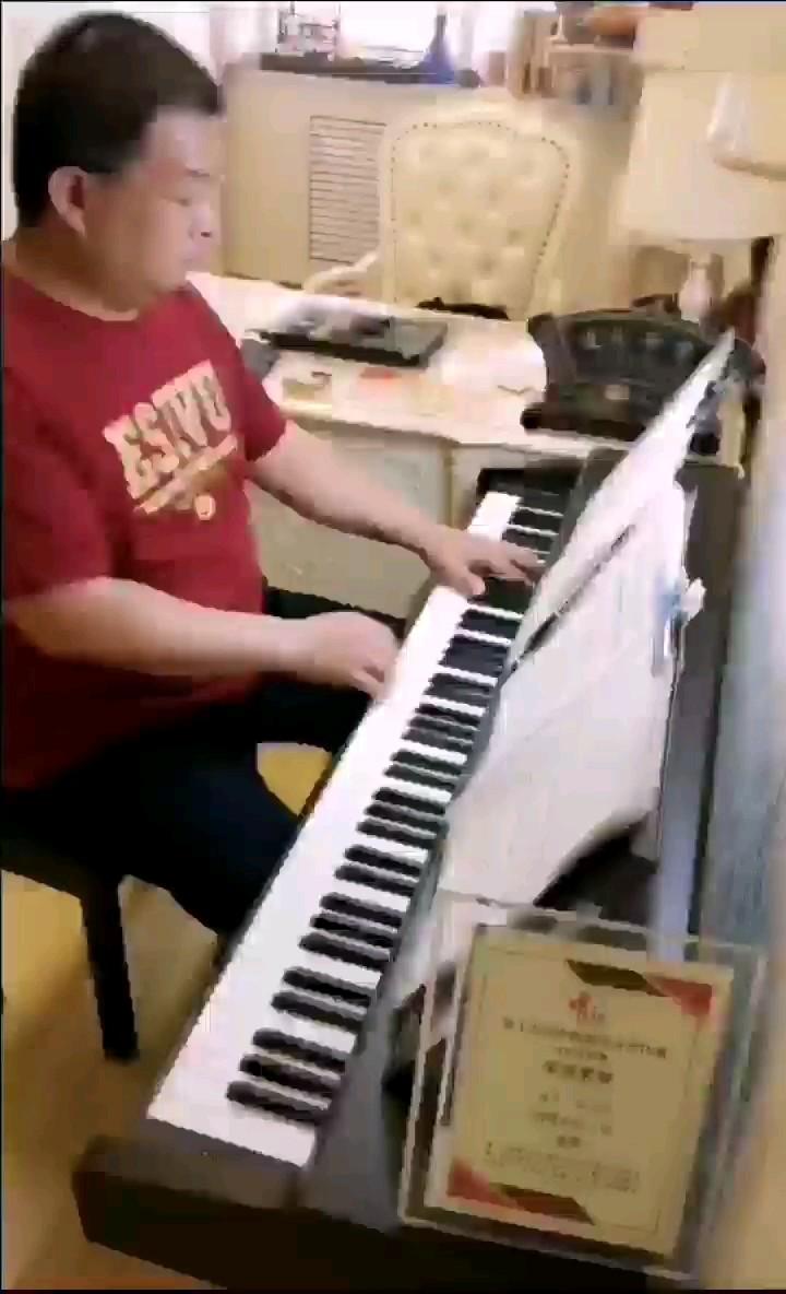 照原谱演奏的不多,我凑合弹下来了,虽然速度很慢,但贵在完整!演奏视频