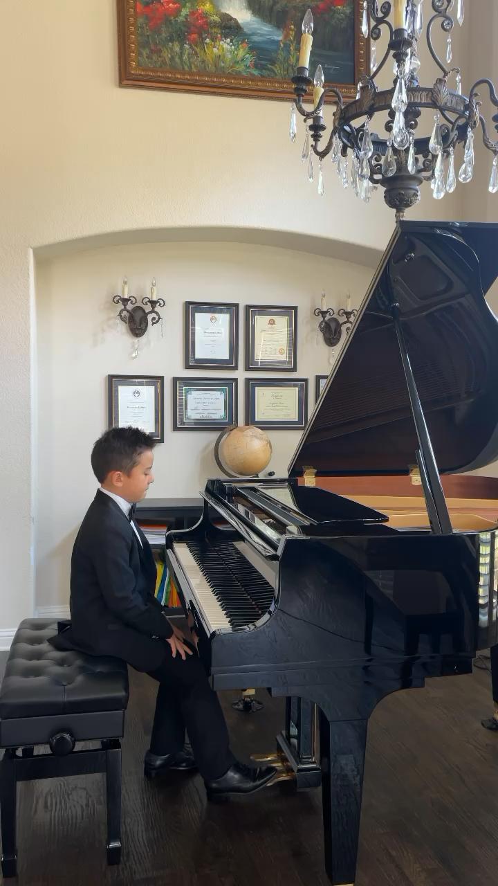 Mozart Sonata Kv 332 third movement演奏视频