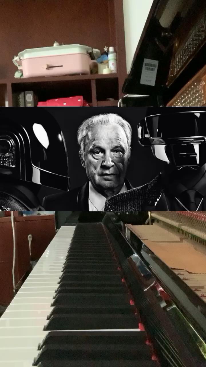 日常随手弹Daft Punk《Giorgio by Moroder》,致敬DP与Giorgio,代表了一个时代…演奏视频