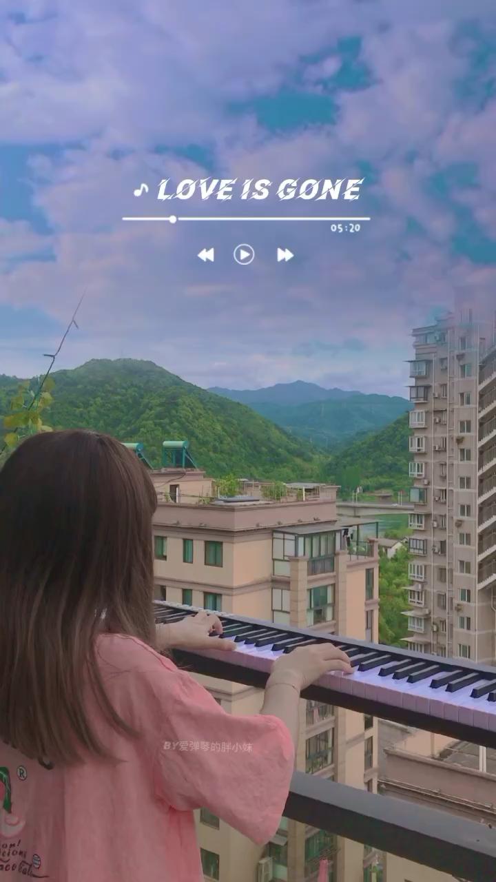 《Lov Is Gone》钢琴演奏视频