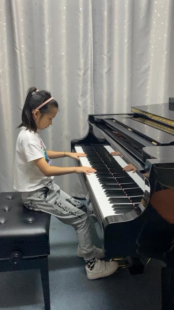 2021上海市音协九级《练习曲》演奏视频
