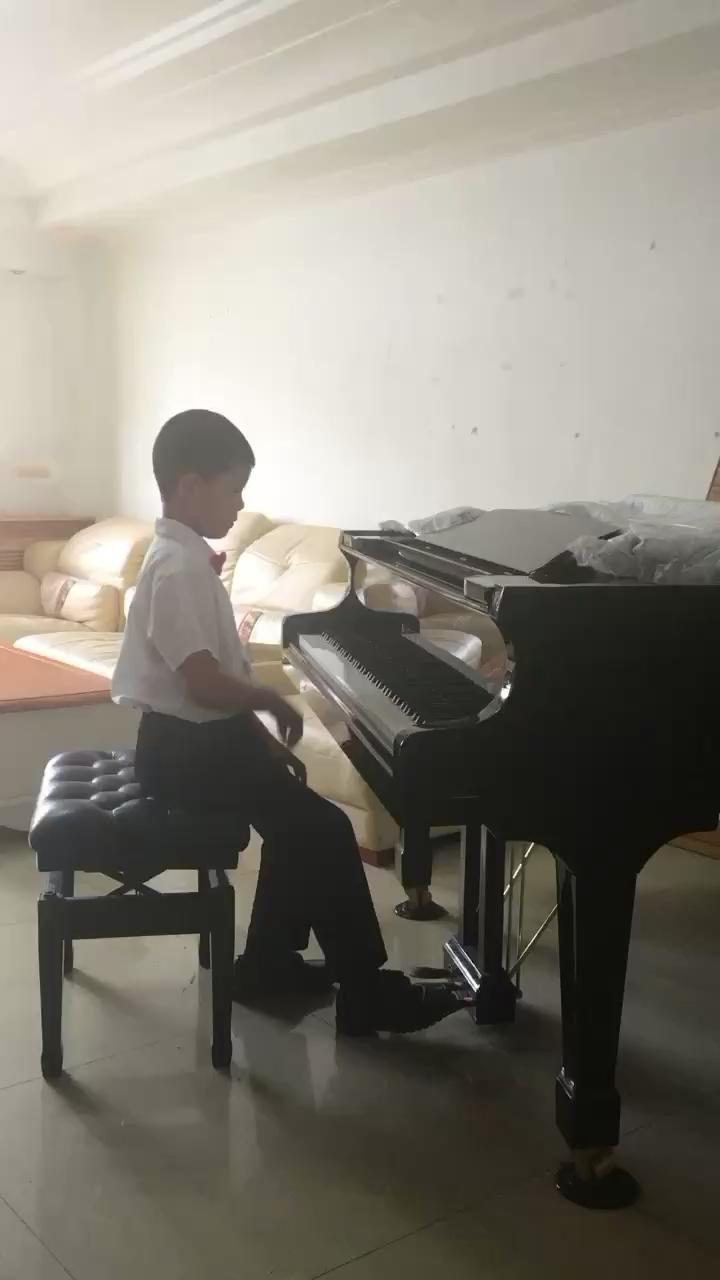 我今年8岁,很喜欢钢琴,希望大家喜欢我的演奏!谢谢你们!