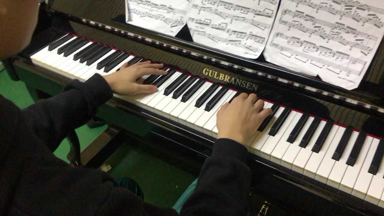 斯克里亚宾练习曲op8 no2演奏视频