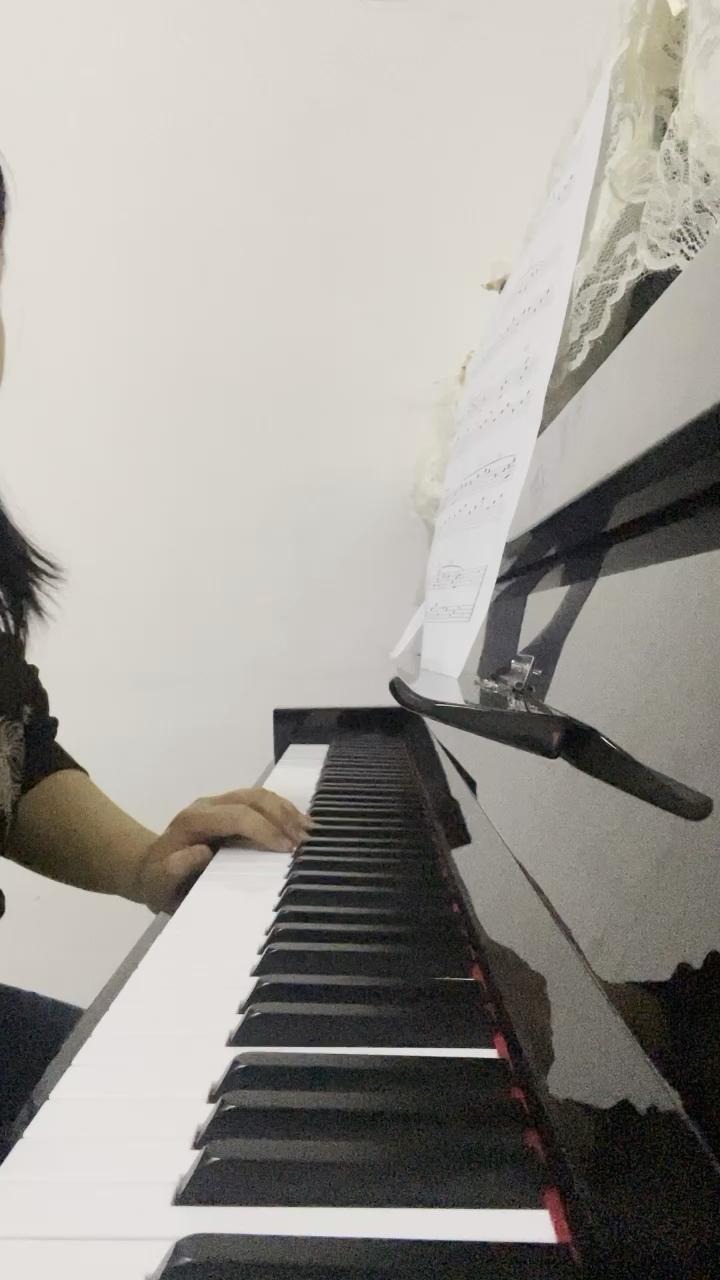 C调《萱草花》(深情版+不升调+段落优化)演奏视频