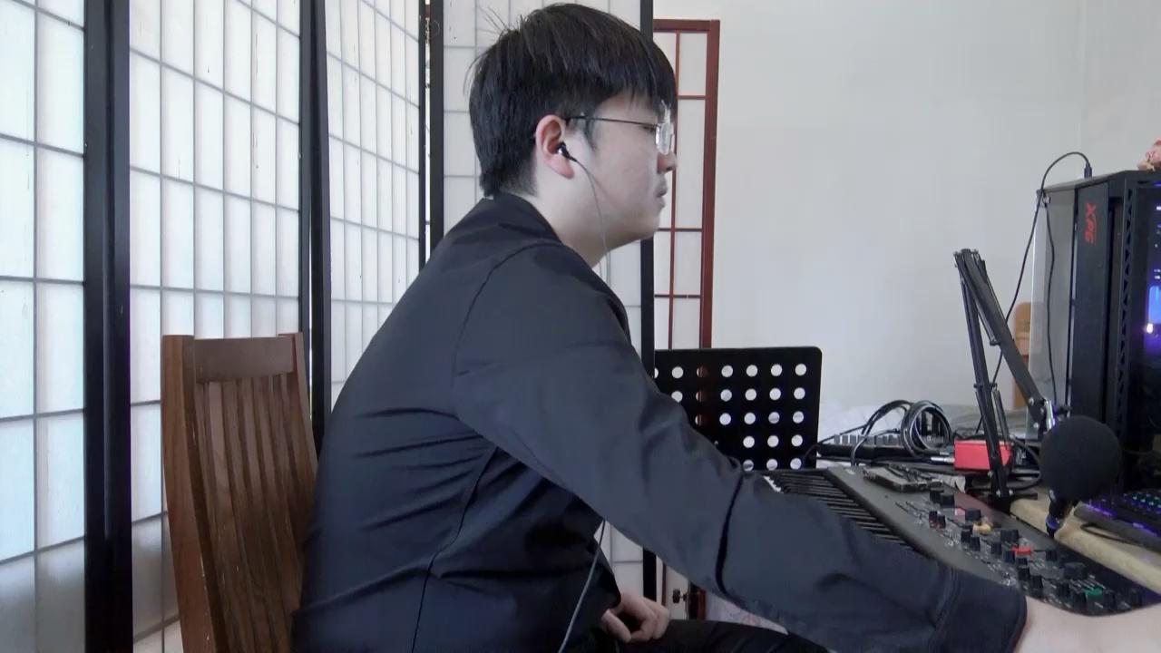 自弹 kapustin variation op.41演奏视频