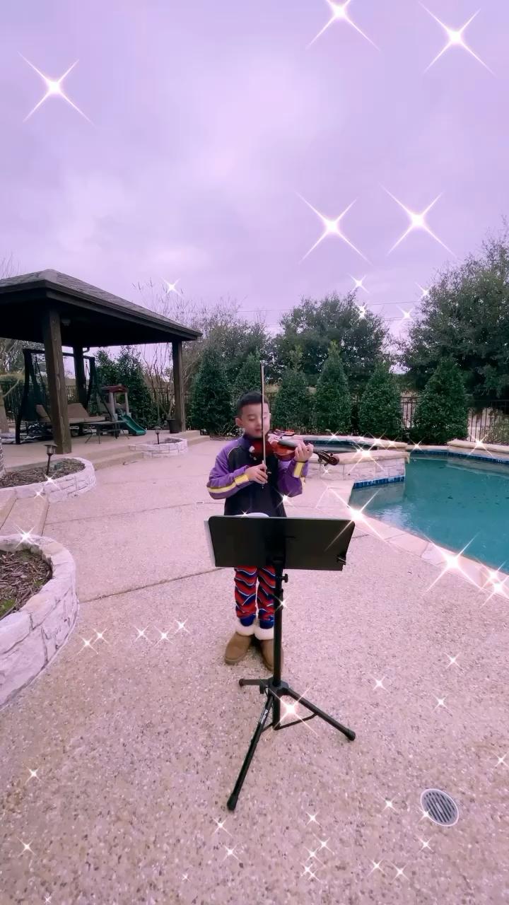 小提琴初学者演奏视频