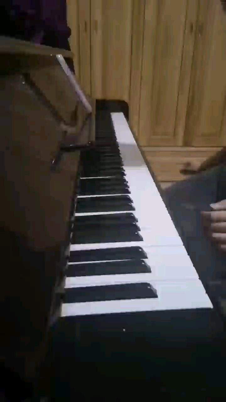 学了前面一点,爱丽丝的主题曲太温柔了,我的破琴弹不出来那种感觉。演奏视频