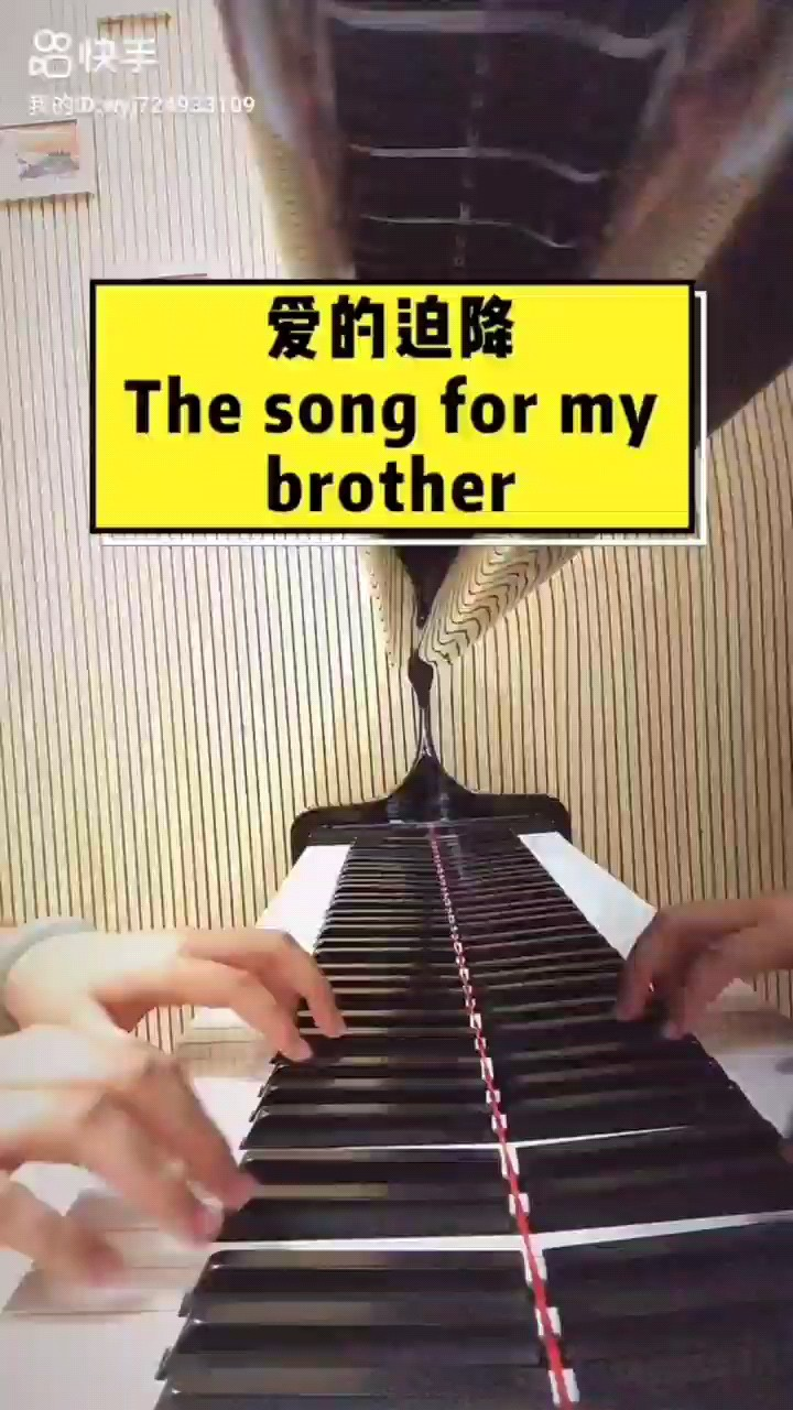 【完全还原版】爱的迫降 - The Song for My Brother演奏视频