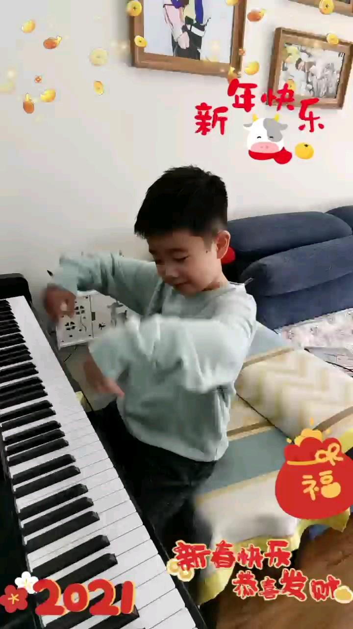 非唱歌专业,不喜勿喷,祝大家新年快乐!演奏视频