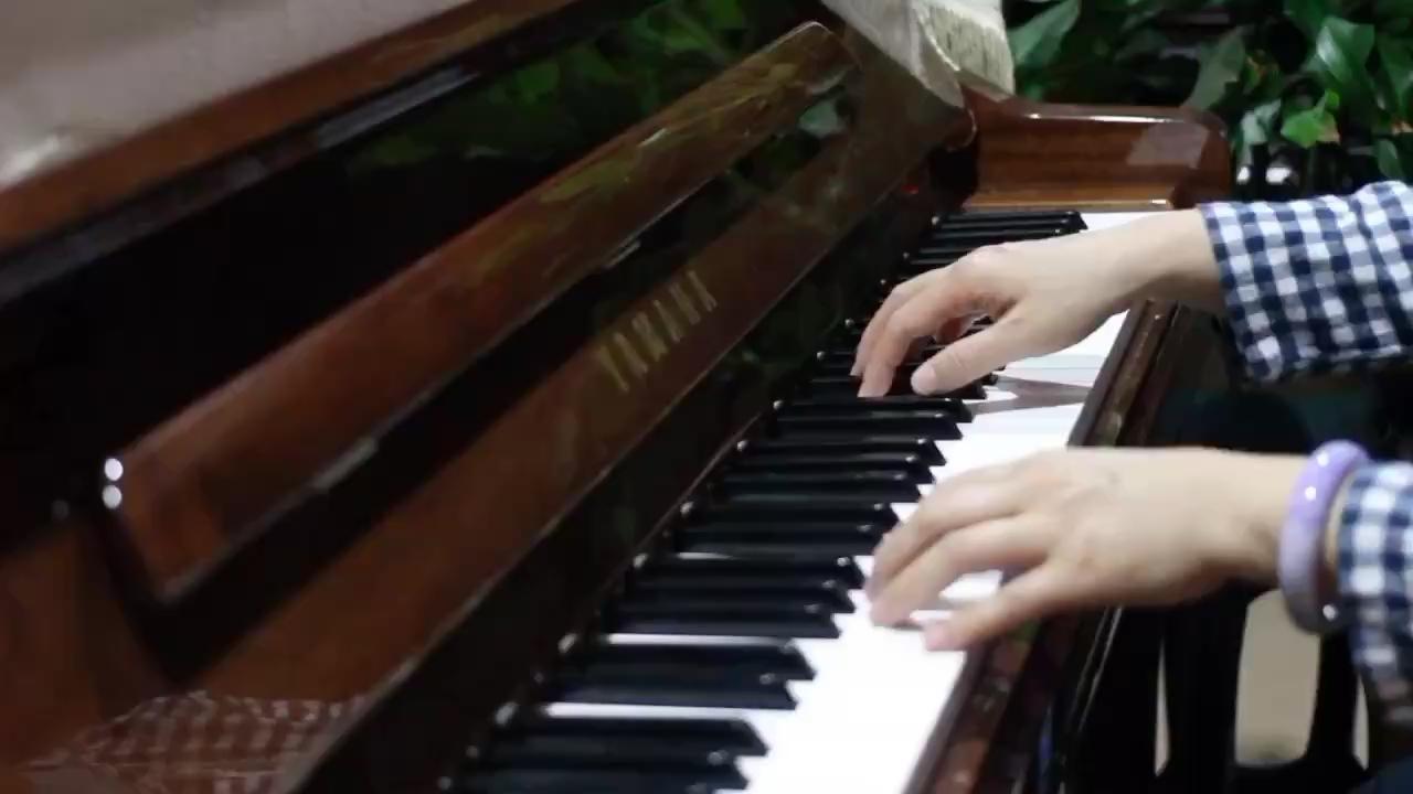 #夜空的寂静#钢琴
