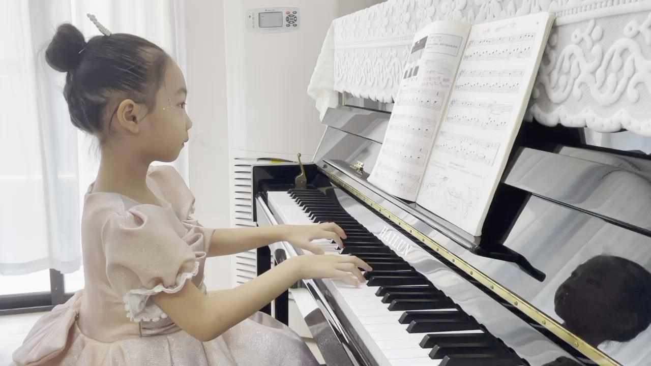 春之歌《约翰汤普森 现代钢琴教程1》演奏视频