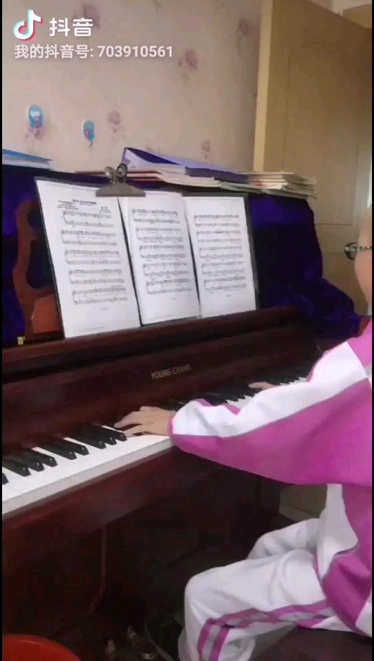 《喜欢你》邓紫棋翻唱钢琴版演奏视频