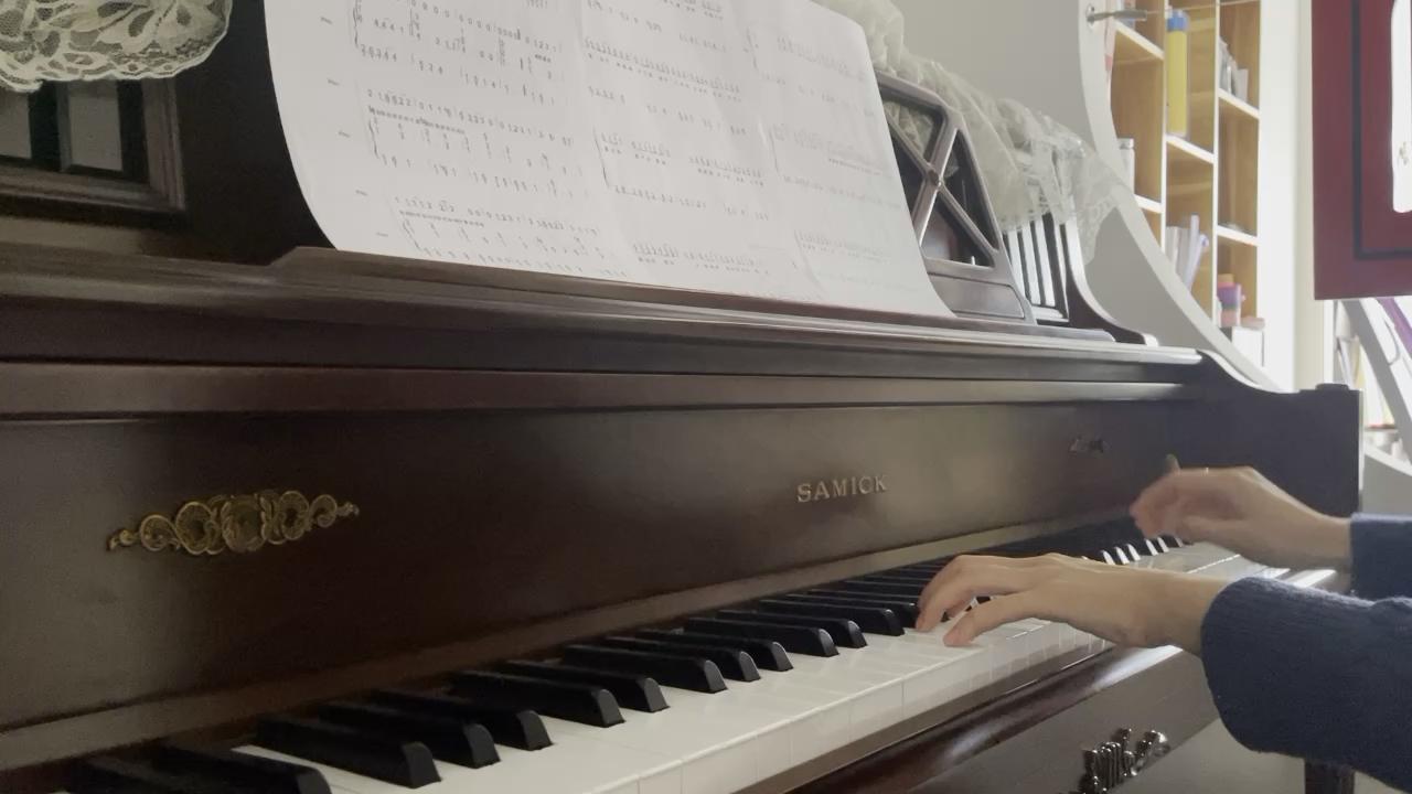 明明就 - C调 - 极简易上手适合初学者 - 附歌词演奏视频