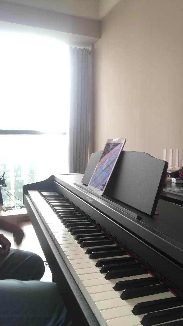 我啥时候能弹琴不抖腿演奏视频