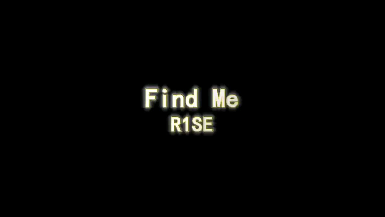 【钢琴唯美还原】R1SE-Find Me演奏视频