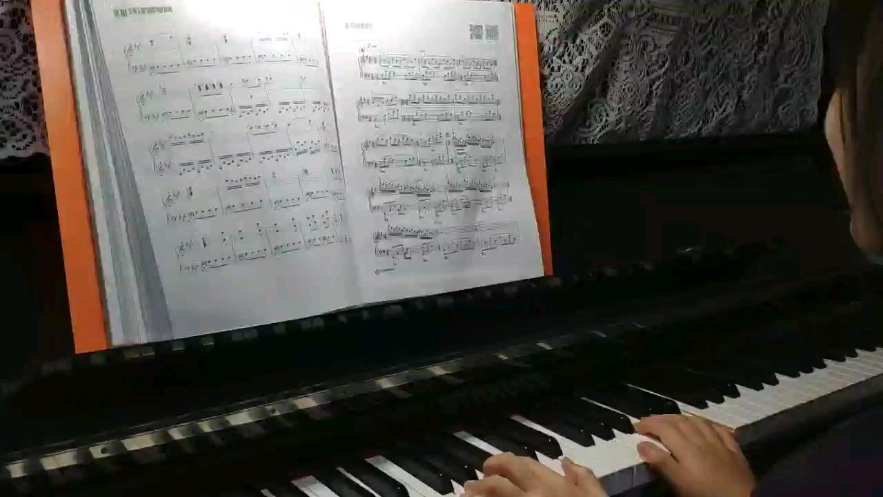 童年的回忆-带指法演奏视频