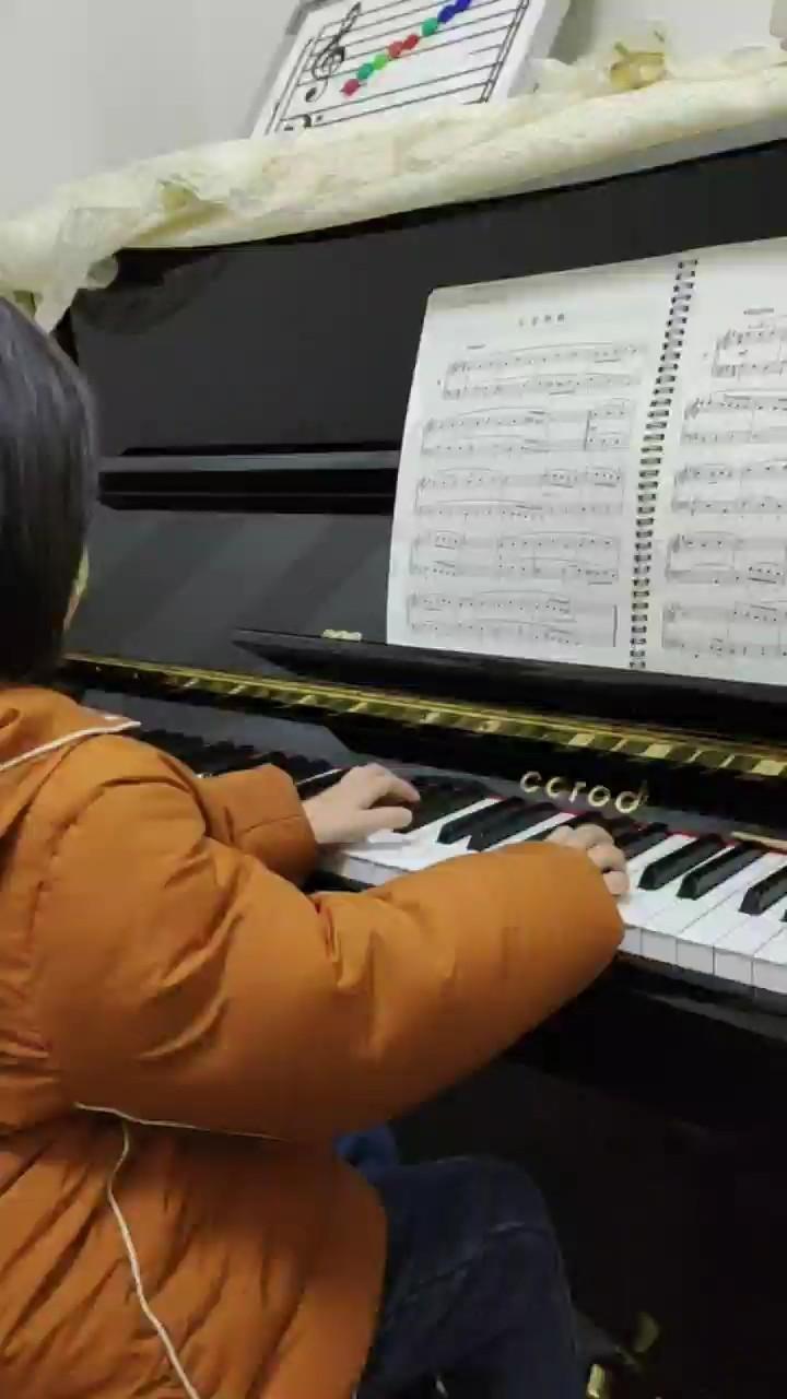 老师说要弹这曲子,一下就爱上巴赫了🥰演奏视频