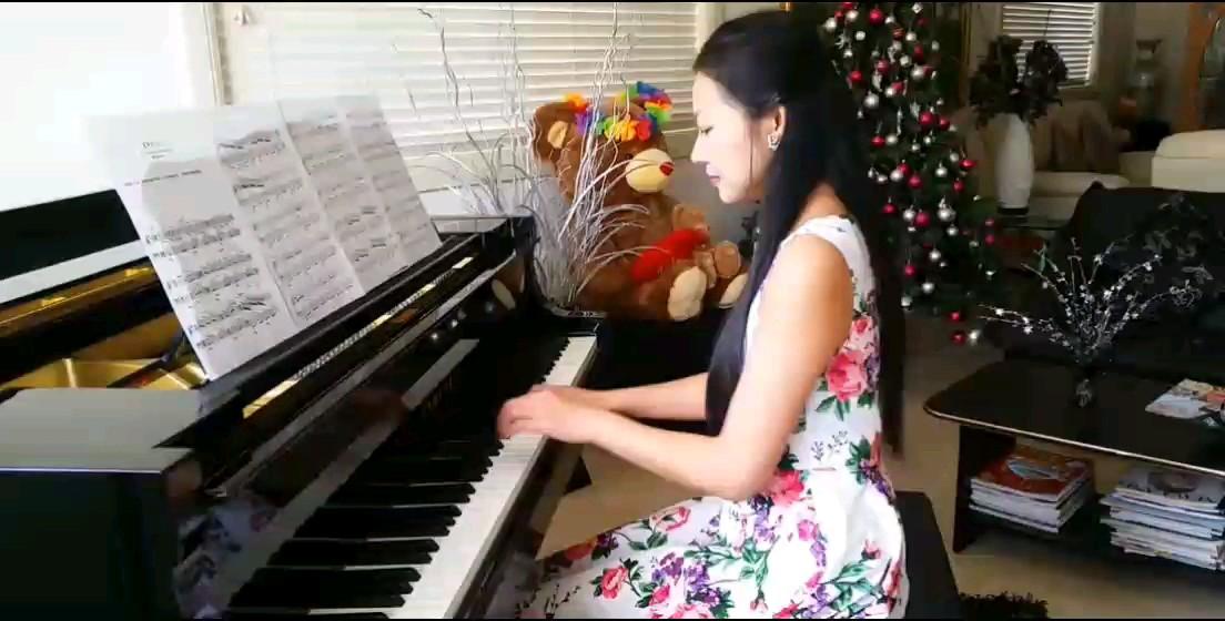 理查德:童年的回忆演奏视频