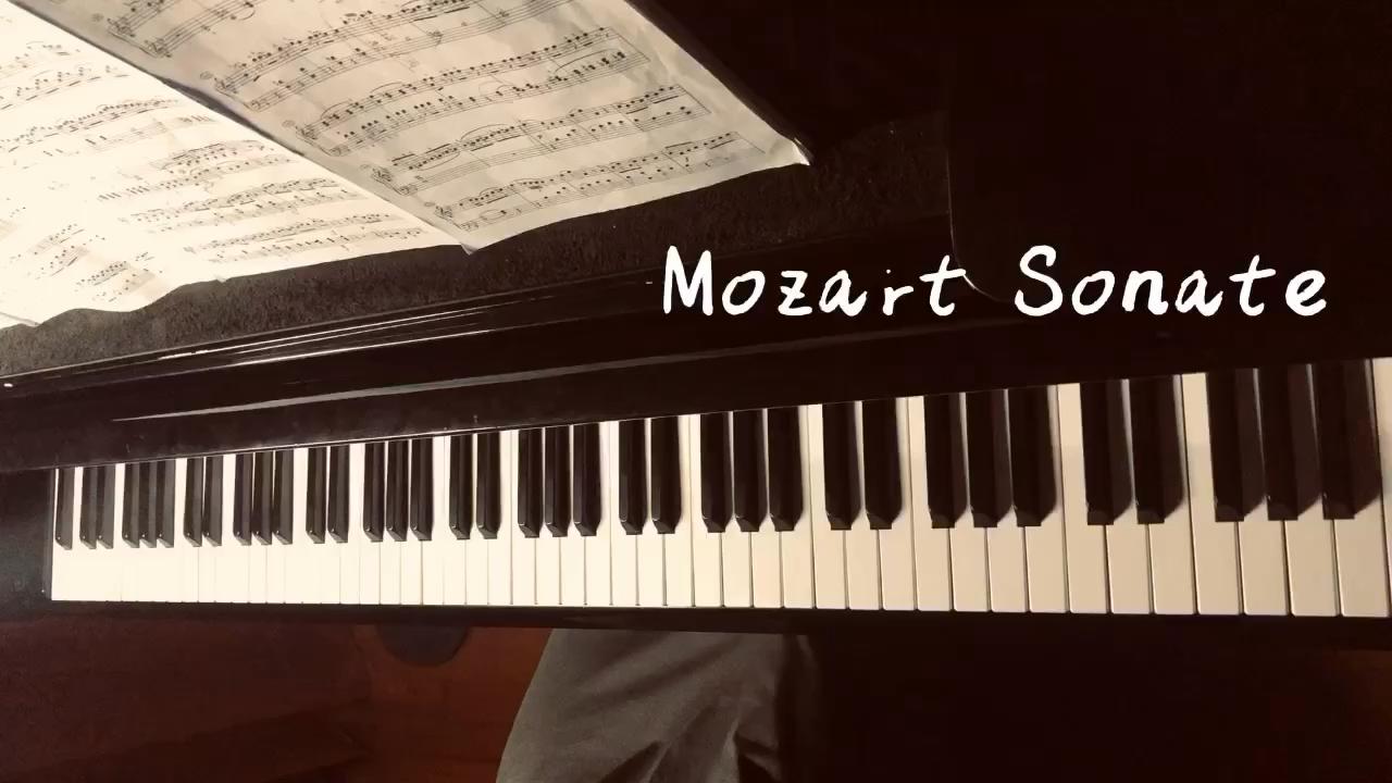 Mozart Sonate k.333 Mov3演奏视频
