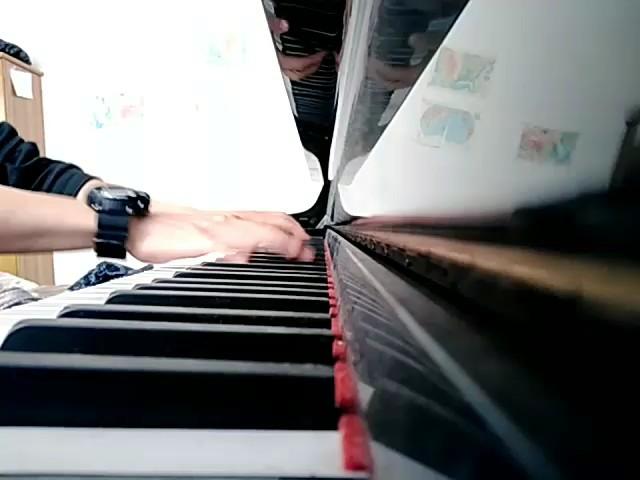 白月光与朱砂痣  钢琴谱演奏视频