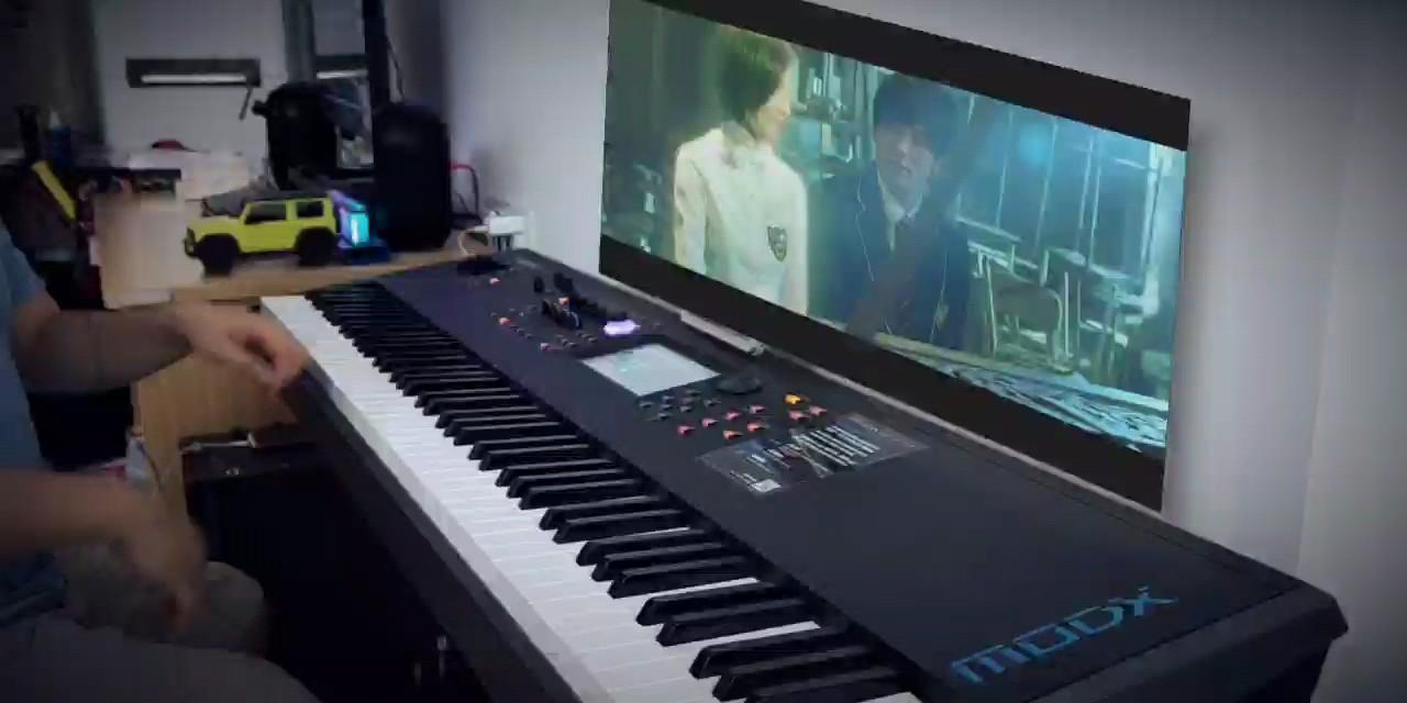 路小雨 - 原版复刻 - 三手联弹演奏视频