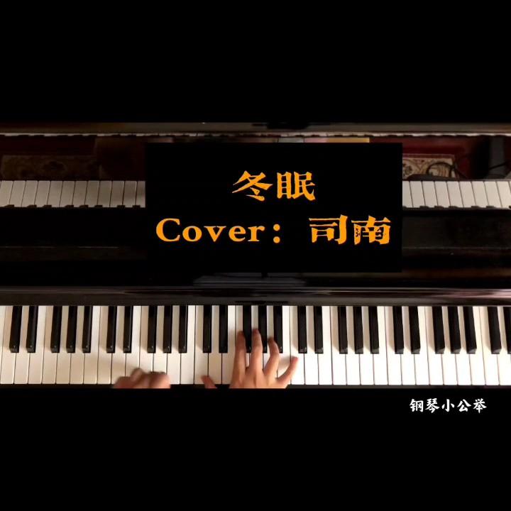 冬眠(唯美升调版)司南演奏视频