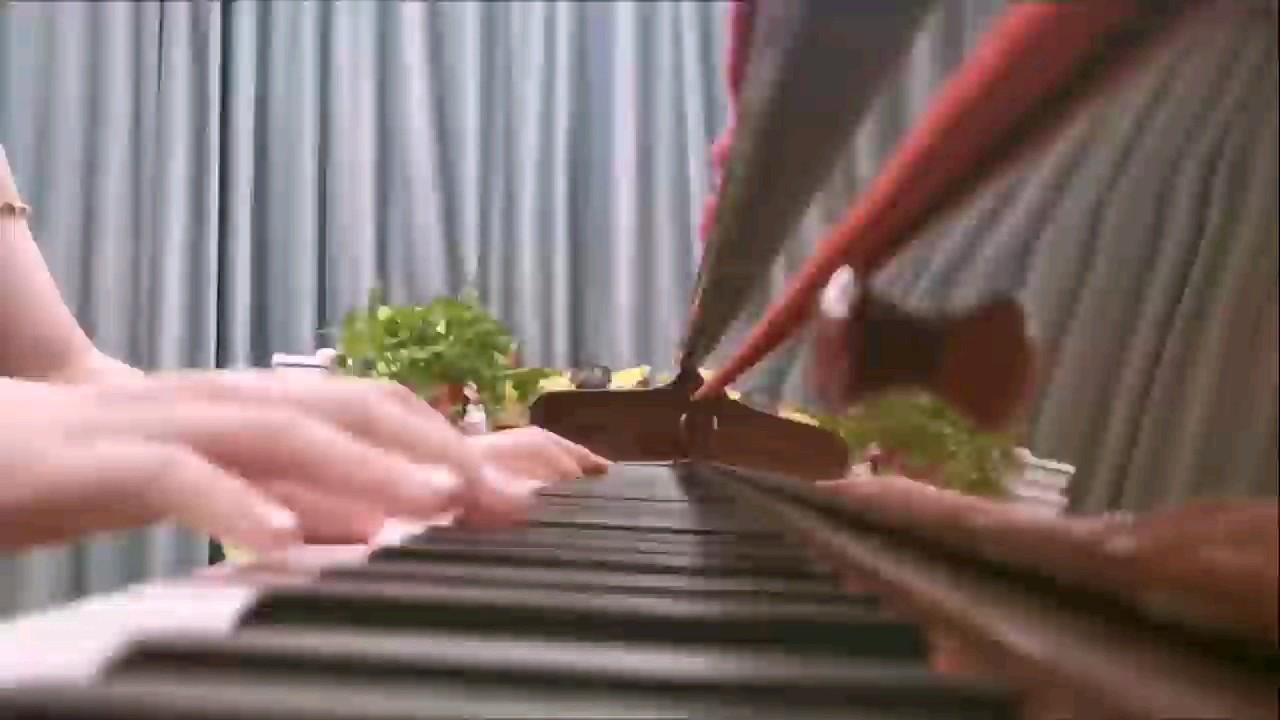 琴谱略有即兴改动演奏视频