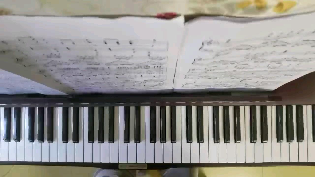 牢不可破的联盟(片段)钢琴版震撼!(在原曲基础上修改了一下)演奏视频