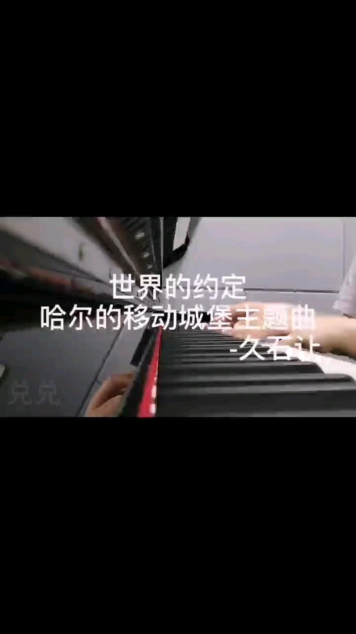 哈尔的移动城堡ED 世界的约定 Animenz版演奏视频