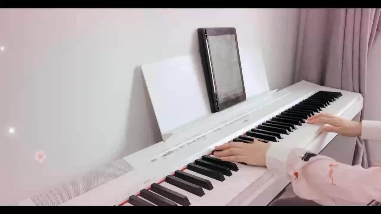 成人钢琴|《葬花》演奏视频