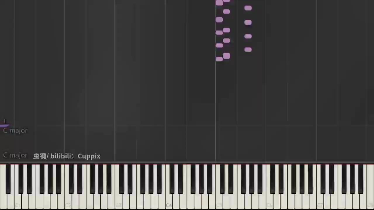 颜人中《晚安》Cuppix编配-高度还原独奏版演奏视频