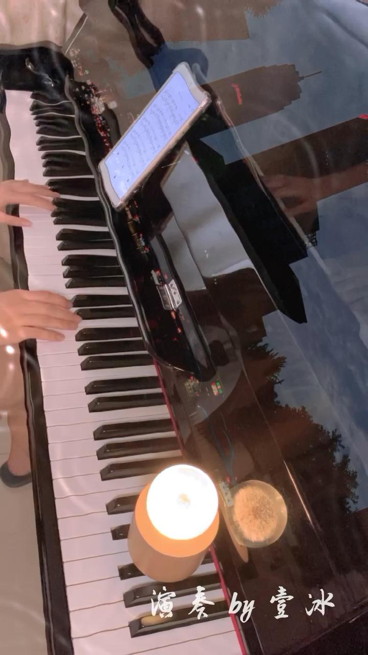 一首很安静的歌曲。演奏视频