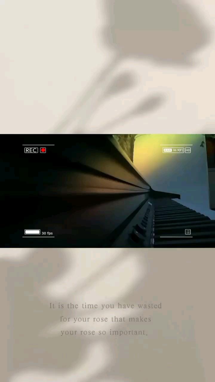 你未来的样子藏在现在的努力中#虫虫钢琴#原创#治愈演奏视频